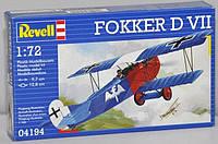 Самолет (1918 г, Германия) Fokker D VII 1:72