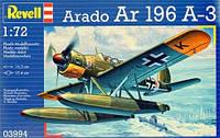 Самолет (1938 г, Германия) Arado 196 A-3 Seaplane 1:72