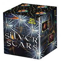Салют Silver Stars MC200-25 - калибр 50 мм, 25 выстрелов