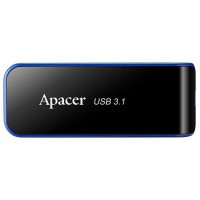 Usb3.0 флеш apacer ah356 32 Гб Черный (ap32gah356b-1)