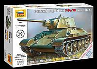 Советский средний танк Т-34/76 (мод 1943 г), 1:72