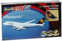 Самолет (1988 г, США) Boeing 747 Lufthansa - easy kit 1:288