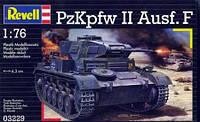 Танк (1941 г, Германия) Panzer II AusfF 1:76