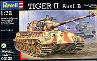 Танк (1944 г, Германия) Tiger II AusfB, 1:72