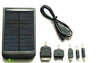 Многофункциональное зарядное солнечное устройство 013 Solar Charger 2600 mAh, зарядка гаджетов без сети