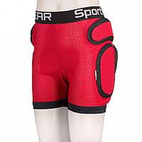 Шорты Sport Gear Kids для детей и подростков (Красный, 4XS)