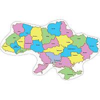 Стенд Карта Украины (цветной)
