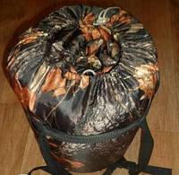 Спальный мешок, камуфляжный, армейский, водонепроницаемый, лёгкий, до - 15 градусов