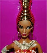 Коллекционная кукла Барби от Стефана Берроуз Чудесная (Stephen Burrows Alazne Barbie ) X8279, фото 6