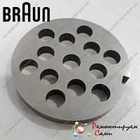 Решетка для мясорубки Braun Ø53мм крупная, фото 1
