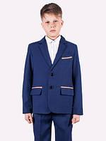 Школьный костюм Костюм - двойка для мальчика с заплатками  для мальчика.Украина.(122-146р), фото 1