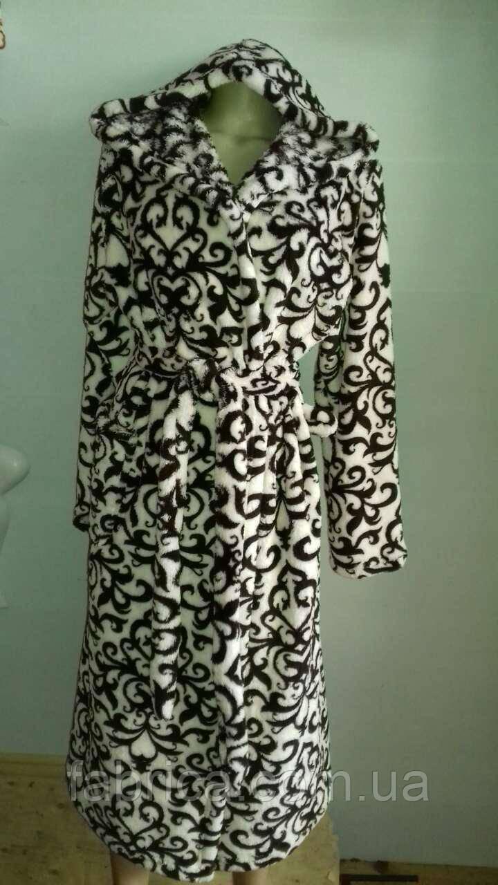 Халаты банные махровые с капюшоном, размеры M L XL XXL до 54 размера