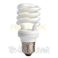 Энергосберегающая лампа Realux Spiral (ES-2) 9W E27 6400k T2, фото 2
