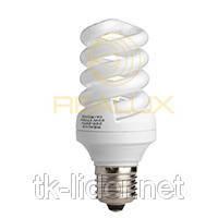 Енергозберігаюча лампа Realux Spiral (ES-2) 9W 2700k E27, фото 2