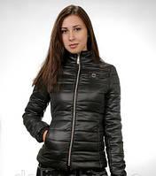 Черная демисезонная 42-44 куртка со скидкой