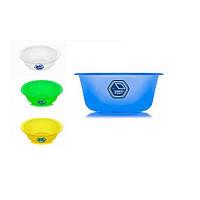 Миска NP-71 пластиковая, круглая, 1.5л, d19*8см, Миски, Кухонная посуда, Кухонные принадлежности, Посуда кухонная и аксессуары