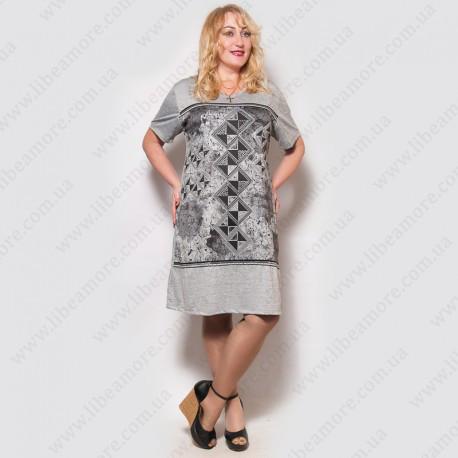 Женское летнее платье большого размера производства Турция - Интернет-магазин  женской одежды больших размеров ... b765c345eb96b