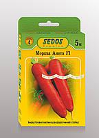 Семена на ленте морковь Анета 5 м.