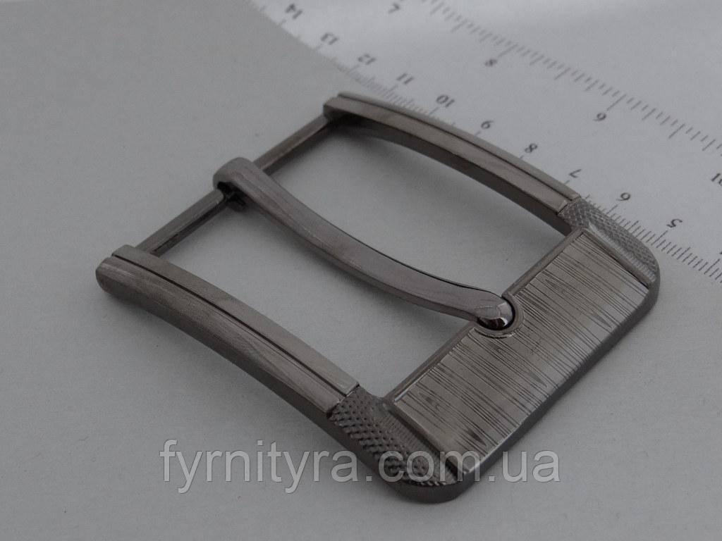 Пряжка ременная 45мм 3572 темный никель