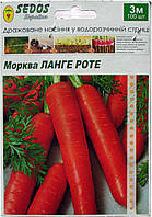 Семена на ленте морковь Ланге Роте 3 м