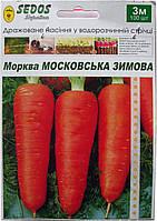 Семена на ленте морковь Московская зимняя 3 м