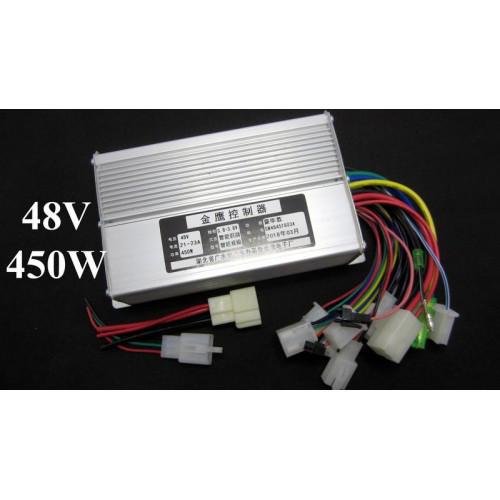 Контроллер управления для электровелосипеда DC 48V 450W 9mos