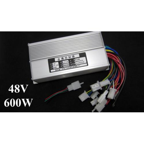 Контроллер управления для электровелосипеда DC 48V 600W 12mos