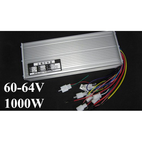 Контроллер управления для электровелосипеда 60-64V 1000W 18mos