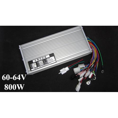 Контроллер управления для электровелосипеда 60-64V 800W 15mos