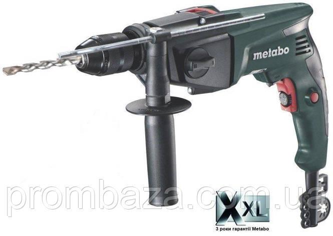 Ударная дрель Metabo SBE 760 в картоне, фото 2