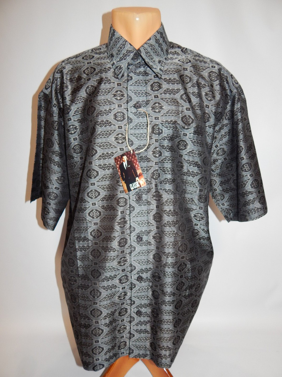 Мужская рубашка с коротким рукавом Priyadarshini (073КР) р.50