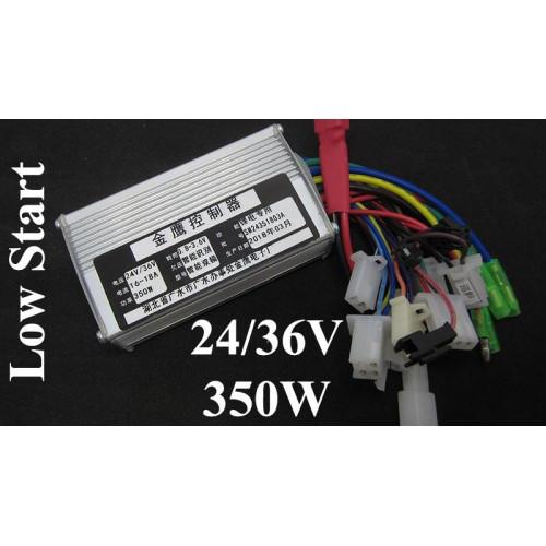 Контроллер управления для электровелосипеда 24V 36V 350W медленный ста