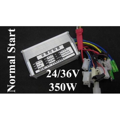 Контроллер управления для электровелосипеда 24V 36V 350W