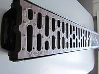 Комплект поверхностного водоотвода 1м с корчневой ПП решеткой