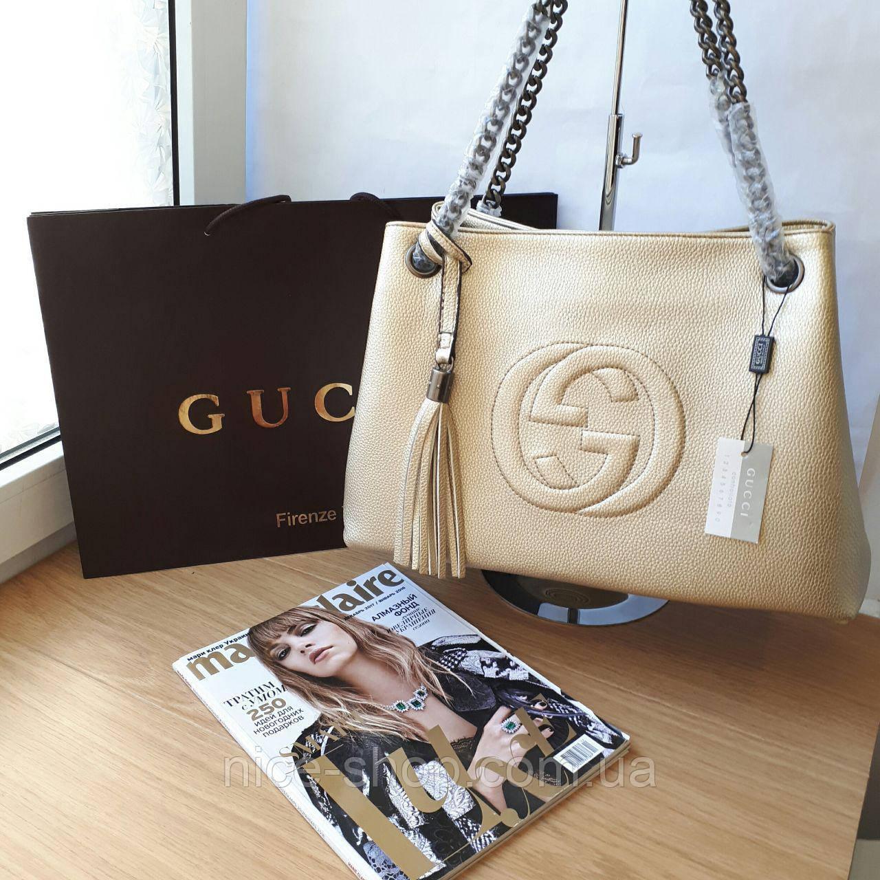 9e0b0a2d8229 Сумка Gucci золотая: продажа, цена в Одессе. женские сумочки и ...