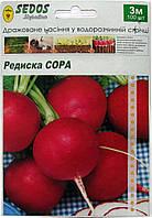Семена на ленте редис Сора 3 м, фото 1