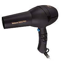 Фен для волос Diva D134 Veloce 3800 Rubberised Black