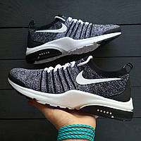 Кроссовки Nike Air Presto Flyknit Grey Black, фото 1