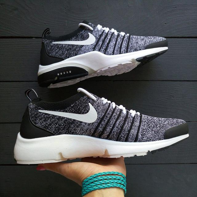 Nike Air Presto Flyknit Grey Black