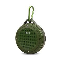 Портативна Bluetooth колонка Mifa F10 Green водонепроникна, фото 3