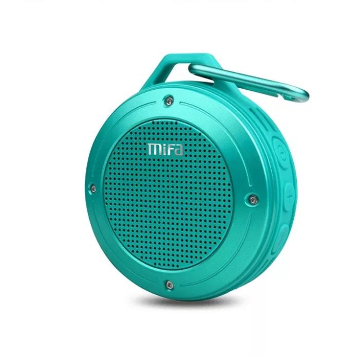 Портативна Bluetooth колонка Mifa F10 Бірюзова водонепроникна