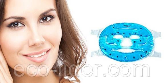 Турмалиновая массажная  маска для лица