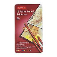 Набор пастельных карандашей Pastel Pencils Skintone,12 цветов в металлической коробке 2300563