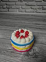 Анти-стрессовая игрушка «Сквиши-тортик большой»