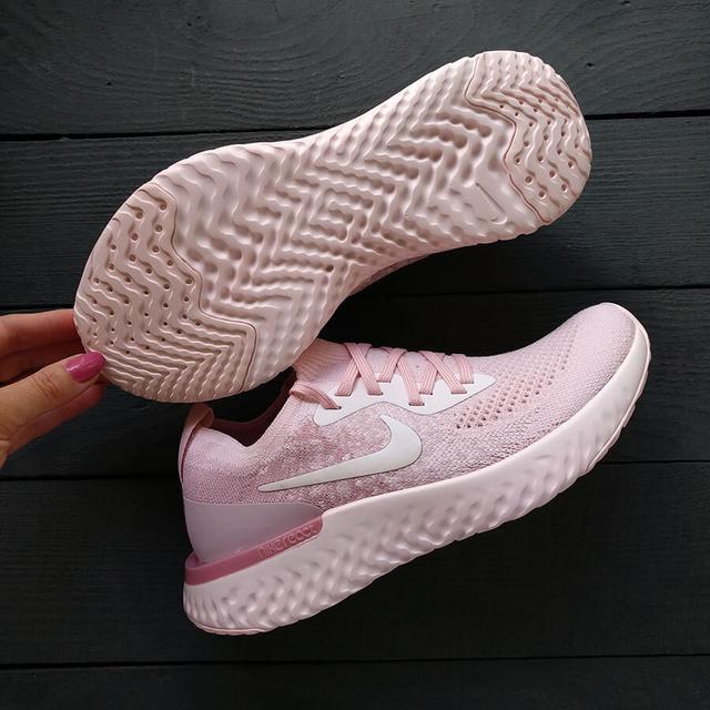 Nike React Free Run Pink White