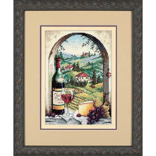 Набор для вышивания крестом Мечтая о Тоскане Dreaming of Tuscany DIMENSIONS Gold Collection 06972