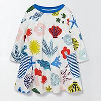 Платье для девочки Sea Bottom Jumping Beans (7 лет)