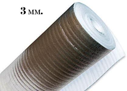 Подложка фольгинированная 3 мм(50 м)