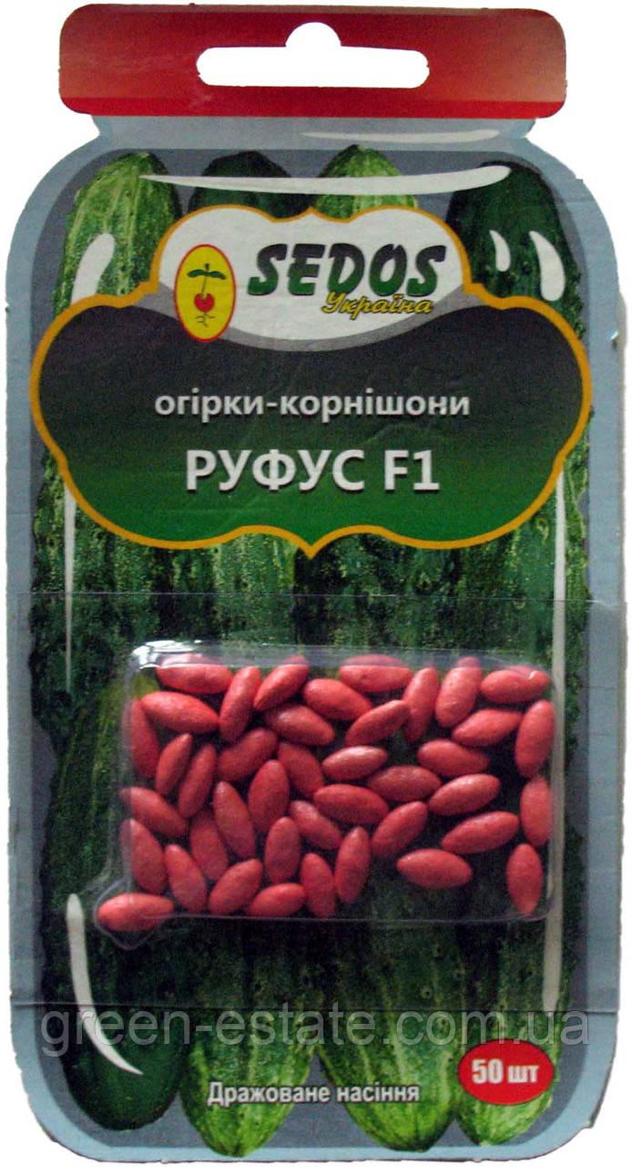 Семена огурцов-корнишонов Руфус F1