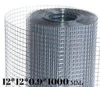 Сет. сварная оцинкованая  12*12*0,9*1000 (30м)